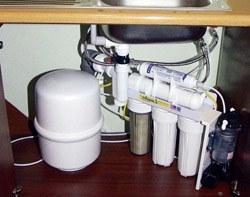 Установка фильтра очистки воды в Смоленске, подключение фильтра очистки воды в г.Смоленск